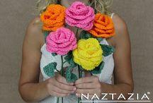 Crochet Flowers & Motifs