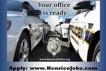 HCPD Job Postings / Now Accepting Applications for Police Officers and Communications Officers.  / by Henrico Police