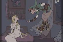 The Legend Of Zelda / ZELDA ES LA PRINCESA