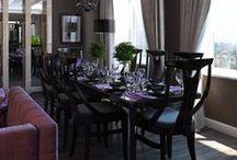 Living room / Living room. Design by Farida Hatukay. Visualisation by Olesya Ulyanova (Y.O.U.).