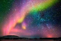 Aurora's Beauty / Aurora Borealis or northern lights!!!  beautiful colors!