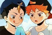 Haikyuu!! / Fan Arts y Memes de este anime que tanto amo <3