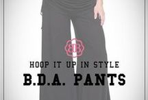 BDA PANTS -- Wide Leg Pants / Look fab and feel fantastic...Before, During & After!  #widelegpants / by Belly Bandit