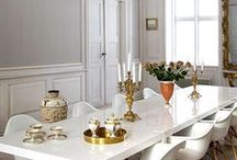 Chic Spaces: Dining rooms