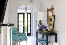Chic Spaces: Entryways & Hallways