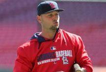 St. Louis Cardinals <3 / Best Baseball team EVER!!!! ;-) / by Hannah Godfrey