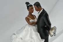 African American Brides & Grooms / These are my favorite brides and grooms to collect. / by Barbara J. Gomez