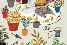 Illustrations & peintures