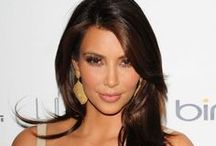 Gorgeous Brunettes / Catherine Zeta Jones, Kim Kardashian, or Cheryl Cole, brunette  always look classy