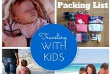 Traveling with kids / Collection of tips how to make travelling with kids stress-free