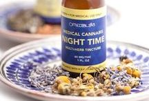 Om Tinctures / Tinctures are liquid medicinals that can be made with alcohol, glycerin or vinegar. We use vegetable glycerin, raw organic Cannabis flowers, activated organic Cannabis flowers, zero PPM solvent-free Cannabis extract, and other healing herbs. Our tinctures are specifically designed to be light. Please enjoy plain, or with the beverage of your choice: hot, cold, or sparkling. They taste absolutely delicious! Tinctures are very fast acting especially when consumed sublingually.