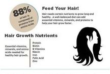 """Food / Your diet can affect your overall health and even the health of your hair .  Try some delicious and healthy recipes that are good for you from """"hair"""" to toe."""