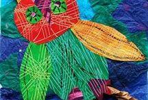Art Projects, Craftivities, etc / Just like it says, art projects, craftivities, holiday projects, art education.