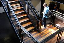 Windfall Stairs / Staircases using Windfall Lumber products