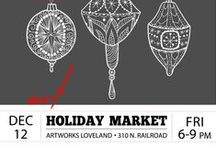 AWL Holiday Market / Why not support local artists for your holiday shopping?! Featured are available works for purchase and other inspiration for holiday gifts.