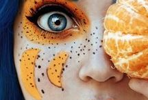 Beauty: Fruit Make-up / Who knew there was so many fruit themed make-up looks out there?