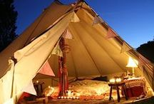Festival: Tents & Tipis / Beautiful Festival Tents and Tipi!