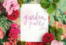 Garden Party / Beautiful garden parties!