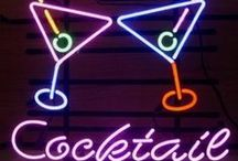 Neon Signs / We want to fill our homes and gardens with neon signs
