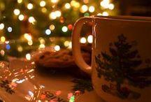 Christmas lights / Bright lights, big cities