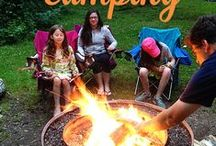 Camping DIY / Whether #camping on the go or in your own #backyard, here are some projects and products that are sure to inspire you in the great #outdoors.