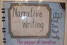 Teaching Narrative Writing / Teaching Narrative writing is a difficult process.  Find anchor charts, resources, and ideas to teach elementary grades fictional narrative writing.  #writing #narrativewriting #elementary #twoboysandadad