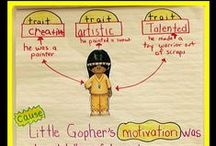 Teaching Character Traits & Analysis / Understanding character traits and analyzing characters are central to understanding stories and historical figures. Find resources, ideas, anchor charts, and lessons to teach character analysis and traits in the elementary grades. #charactertraits #literature #elementary