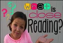 Close Reading, Text Structures & Text Features / What is close reading?  How does that work in the classroom?  How do I do close reading with my students?  Why is it necessary to understand Text Structures and Features? There might be answers here :)