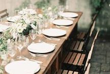 Wedding Table Ideas / Ideas to make a wedding table look even more beautiful