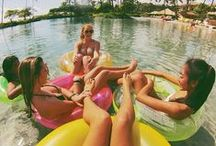 Pool Party: Inflatables / The ultimate Summer hangout!!