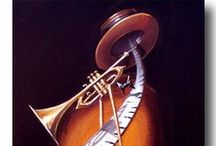 Musical Art / Beautiful art featuring musical instruments and music