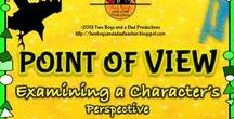 Teaching Point of View / What is a point of view? Perspective?  Do authors have a point of view?  How do you determine your point of view?  Find the answers here! #pointofview #literature #elementary