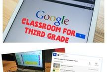 Google Classroom 3rd Grade / Are you wondering how to utilize Google Classroom with your third graders? Then FOLLOW this board for ideas, tips, tutorials, and resources for implementing Google Classroom to go paperless or digital.  #twoboysandadad #googleclassroom #google #education #technology #elmentary #teaching
