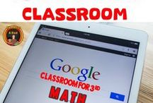 Google Classroom 3rd Grade Math / Are you wondering how to use Google Classroom in Math with your elementary classroom? Then FOLLOW this board for ideas, tips, strategies, and tutorials on how to get going with a paperless and digital classroom. #googleclassroom #google #education #technology #elmentary #teaching #math #twoboysandadad