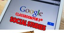 Google Classroom Social Studies / Are you wondering how to use Google Classroom with Social Studies in your elementary classroom? Then FOLLOW this board for ideas, tips, strategies, tutorials, and resources for going paperless and digital with social studies.  #socialstudies #googleclassroom #google #education #technology #elmentary #teaching #twoboysandadad
