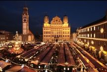 Augsburg, Germany / Where Mom and I were born along with many of my maternal ancestors ~  / by Gini Webb