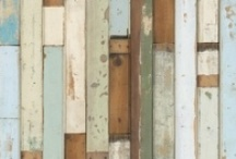 Faux Bois / It's everywhere!!  Wood looks are found everywhere with inspiration from this years Pantone color of the year.  Here are some fun places we found it.