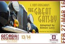 The Great Gatsby / Running Feb. 27 through Mar. 16 at Georgia Ensemble Theatre. Tickets at www.get.org.