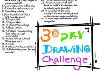 Drawing Prompts and Challenges / Random Challenges and Inspiration  / by Tiffany