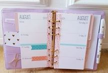 Diaries/Planners / Diaries, planners, Filofax - various ideas & inspiration for keeping myself organised!