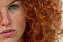 A Rainbow of Redheads / My inner fascination for Red Heads....  / by Dirah's Diary