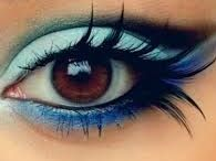 Make_up is art / Ideas for all eye colours.