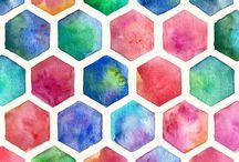 Art: Watercolour Patterns