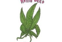Marijuana Art / Marijuana prints and posters made by great inspirational artists.