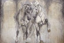 Equine Art / Beautiful artwork of horses including all mediums, watercolor, acrylic, sculpture, oil, etc. This board is my inspiration and also an outlet for me to share my own artwork as well. There are so many amazing equine artists out there and I love to share their creative works. / by Sandra Beaulieu