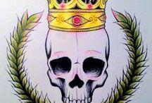 Skull candy / Skull/bone tattoos