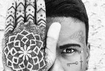Hand made / Hand/Finger Tattoos