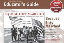 Common Core Educator's Guides / Supplement classroom learning with free downloadable educator's guides for our books that incorporate the Common Core and encourage further discussion. http://www.holidayhouse.com/free_materials.php#educators