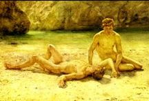 Henry Scott Tuke RA RWS Male Youth Paintngs (1858 – 1929) / The Intercom Trust (Exeter) Devon attempted to eradicate all reference to male nude paintings by Henry Scott Tuke from Cornish LGBT history in Cornwall. Perhaps Intercom would like to burn books next = Prejudicial idiots!?