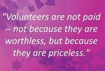 Lending A Helping Hand / Volunteering helps us  learn that we can make a positive difference in the lives of others. #GiveBack Today!
